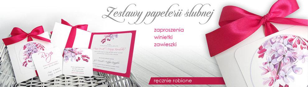 Zaproszenia ślubne Rzeszów Zaproszenia ślubne Jasło Zaproszenia